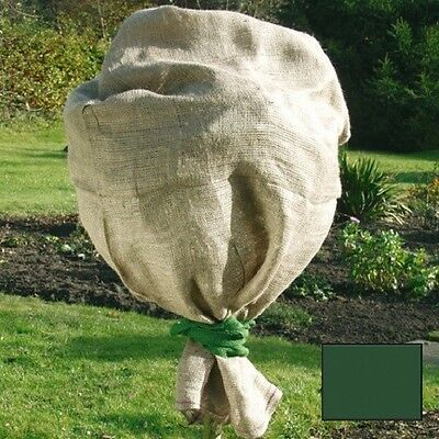 Jute Protection Bag 141358 Green 100 x 110 cm Winter Protection Plant Protection