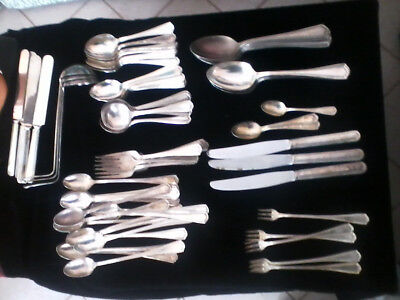 Large Lot Of Vintage Silverware Oneida  Hotel Ware - William Rodgers - Triple