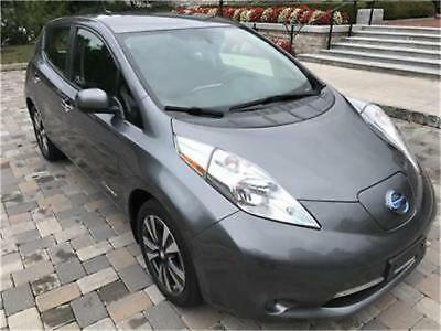 2015 Nissan Leaf SV Quick Charge Navi w/Cold Weather Package Quick Charge Sys Warranty OneOwner 2015 Nissan Leaf SV Navi QuickChargeSys w/Cold Weather Premium