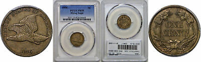 1856 Flying Eagle Cent PCGS PR-55