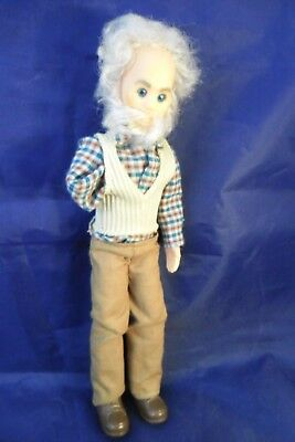 "VINTAGE 1973 MATTEL SUNSHINE FAMILY DOLL ""GRANDPA"" (Missing Arm, War wound)"
