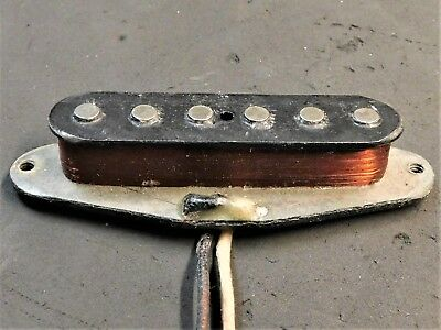 1966 Fender Original 60's Mustang NECK PICKUP Vintage Electric Guitar Part 5.43K