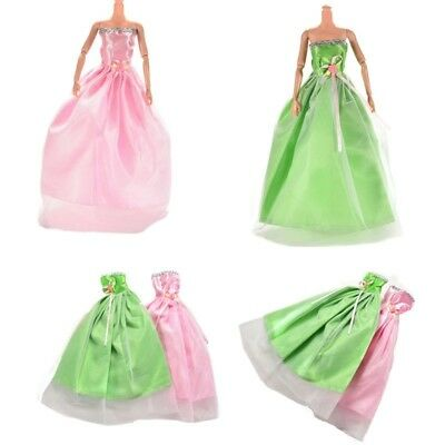 Handmade Evening Dress outfit clothes Party Fashion Clothes For Barbie Doll