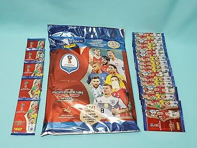 Panini Adrenalyn XL World Cup Russia 2018 Starterpack + 25 Booster  WM Cards