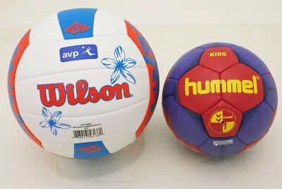 Wilson Volleyball Outdoor  AVP Hawaii + Hummel Kinder Kids Handball 2 Stück 2 er