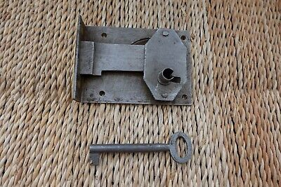 Antique Vintage Box Door Lock Storage Room Office Furniture Cupboard Project2722