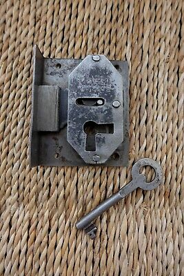 Antique Vintage Box Door Lock Storage Room Office Furniture Cupboard 27-38
