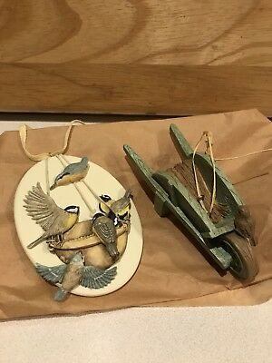 "1997 HALLMARK MARJOLEIN BASTIN ""Honored Guests"" ORNAMENT Nature's Sketchbook +"