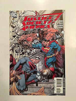 Justice Society of America #13 Variant Cover (Apr 2008, DC) Superman