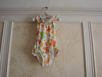 Nwt Janie And Jack Butterfly Garden Girls Butterfly Swimsuit 2 2T