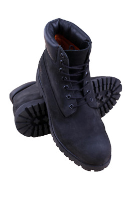 10073 Men 6-Inch Premium Waterproof Boot Timberland Black Nubuck