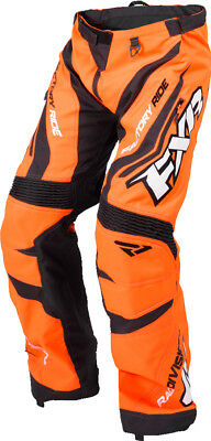 FXR Cold Cross Race Ready Mens Snow Pants Orange/Black/White