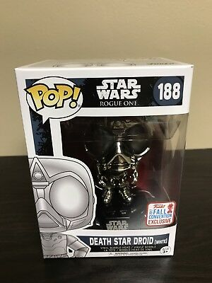 NYCC 2017 Funko Pop Death Star Droid White #188 Star Wars Disney Fall Convention
