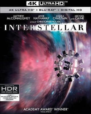 Interstellar New 4K Ultra Hd Blu-Ray