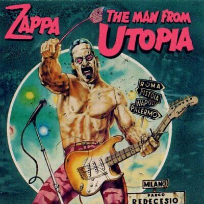 Frank Zappa - The Man From Utopia - Frank Zappa CD T5VG The Cheap Fast Free Post
