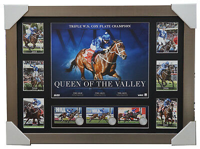 Winx Official Triple Cox Plate Champion Deluxe Print Framed Horse Racing Bowman