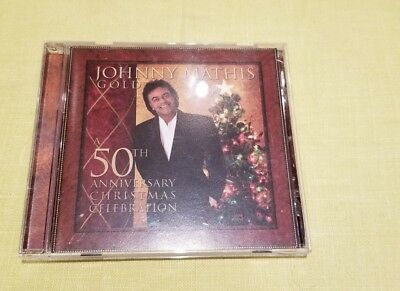 NEW Gold: A 50th Anniversary Christmas Celebration by Johnny Mathis (CD, 2006)