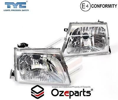 Set / Pair LH+RH Head Light Lamp For Toyota Hilux Ute SR5 4WD 2001~2005