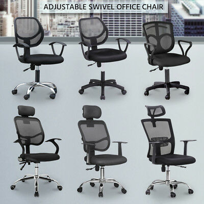 Prime Executiv Office Computer Mesh Chair Swivel Height Adjustable Gas Lift