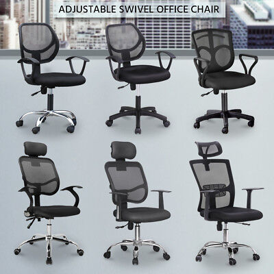Prime Office Executiv Chair Mesh Swivel Computer Desk Height Adjustable Gas Lift