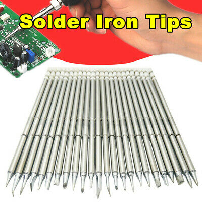 T12 BC2/J02/JI02/KR/ILS Soldering Iron Tips For HAKKO Soldering Rework Station