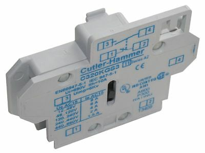 Eaton Auxiliary Contact, 10 Amps, Standard Type, Side Mounting - C320KGS1