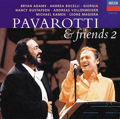 Pavarotti and Friends, Vol.2 -  CD 72VG The Cheap Fast Free Post The Cheap Fast