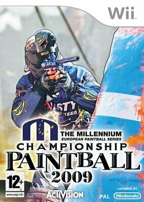 Millennium Series Championship Paintball 2009 (Wii) - Game  72VG The Cheap Fast