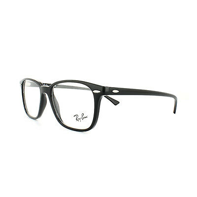 5b3c9e0f31 RAY-BAN GLASSES FRAMES 7119 2000 Black Mens Womens 53mm - EUR 84