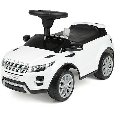 Range Rover Evoque Ride On Racing Car Kids Toddler Foot To Floor SUV Toy