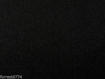 Blackout & Waterproof Black Canvas Fabric 150Cm Wide  -Premium Quality