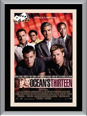 Ocean's Thirteen A1 To A4 Size Poster Prints