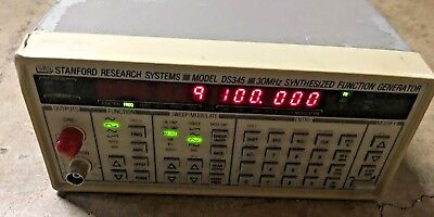 Stanford Research Systems DS345  30MHz Synthesized Function Generator Option: 01