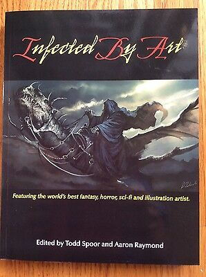 INFECTED BY ART Volume 1- signed
