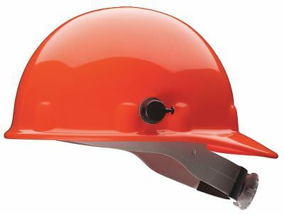 "Fibre-Metal Front Brim Hard Hat, Orange, Hat Size: 6-1/2 to 8"" - E2QRW03A000"