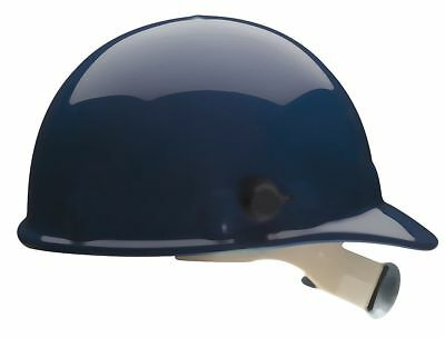 "Fibre-Metal Front Brim Hard Hat, Dark Blue, Hat Size: 6-1/2 to 8"" - E2QRW75A000"