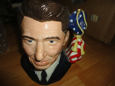 Ronald Reagan D6718 – Large – Royal Doulton Character Jug Limited Edition