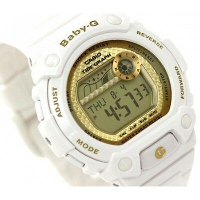 Casio Women s BLX100-7B Baby-G Shock Resistant Glide White Multi-Function  Watch 61792398e6