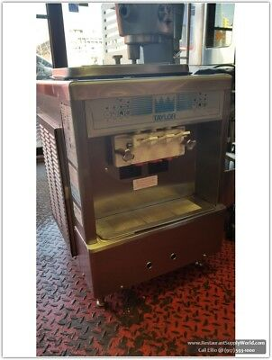 Taylor 161-27  Twist Countertop Ice Cream Machine Air Cooled 208 Volts 60Hz 1Ph