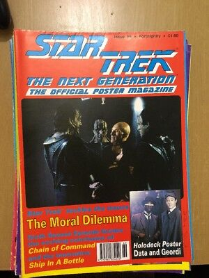 Star Trek the next generation  The official poster magazine  No 69
