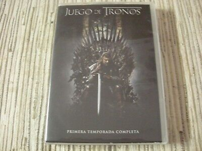Dvd Serie Juego De Tronos Game Of Thrones 1ª Temporada 10 Capitulos 5 Dvds Usado