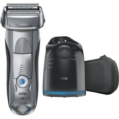 Braun Personal Care 7790cc System Pulsonic Silber Rasierer