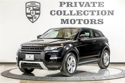 2012 Land Rover Evoque Dynamic Sport Utility 2-Door 2012 Land Rover Range Rover Evoque Dynamic Premium 1 Owner Clean Carfax