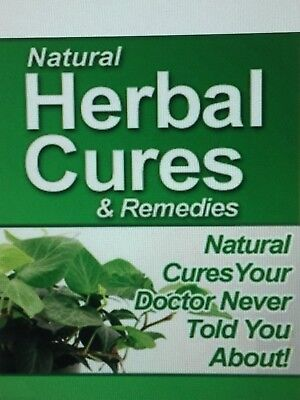 Natural Herbal Cures & Remedies E-Book