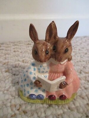 Royal Doulton Bunnykins Storytime Beatrix Potter 1974 Figurine