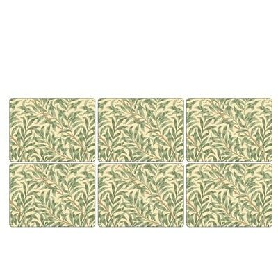 Pimpernel Willow Bough Green Placemats - Set of 6