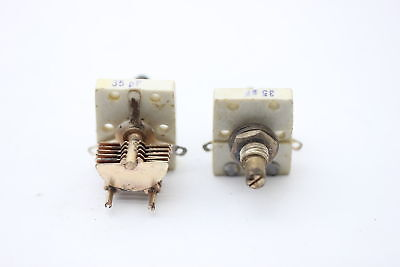 AIR VARIABLE CAPACITOR 2 X 400 pF A NOS CA175U2F130619 1PC NEW OLD STOCK
