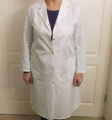 """Lab Coats New Quality Made In Uk Ladies Size Available 38"""".40"""".42"""" Stud Front"""