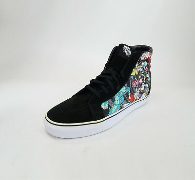 6f6ca50a9b Vans Shoe Sk8 Hi Reissue Disney Rabbit Hole Black Unisex Sneakers  2214