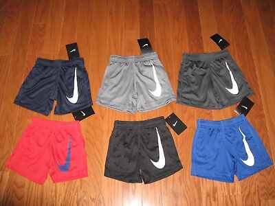 Nike Shorts Basketball Pants Boys Size 2T 3T 4T Nwt